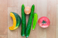 Japan-Gemüse Lizenzfreie Stockfotos