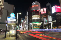Japan : Ginza Royalty Free Stock Photos