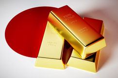 Japan gold Stock Images