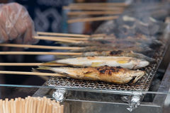 Japan grill fish Stock Photo
