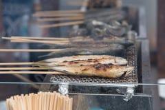 Japan grill fish Stock Photos