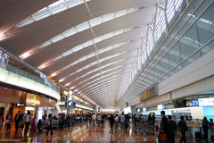Japan : Haneda Airport Stock Image