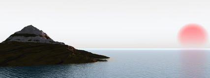 japan hav Arkivbilder