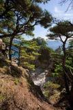 Japan hav. Höst 3 Arkivfoto