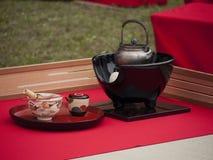 japan herbata Zdjęcia Royalty Free