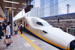 Japan high speed train Stock Photography
