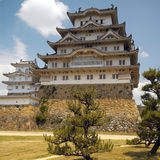Japan - Himeji Castle. The 17th Century Himeji Castle in Japan, A UNESCO World Heritage site Stock Photos