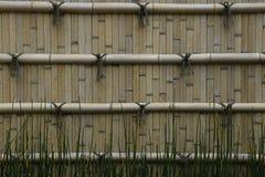 Japan Himeji Himeji Koko-en Gardens split bamboo wall close-up Stock Photos