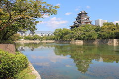 Japan : Hiroshima Castle Royalty Free Stock Photo