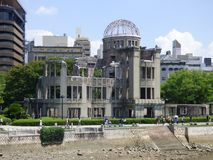 JAPAN. Hiroshima. Park of Peace royalty free stock photos