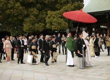 Japan-Hochzeit Lizenzfreies Stockbild