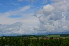 Japan Hokkaido Landscape 3. Japan Hokkaido Island Scenic Landscape stock image