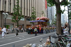 Japan Hokkaido Sapporo City Street Procession 1. Japan Hokkaido Sapporo City Street Procession Scene stock images
