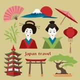 Japan icon set. Stock Photo