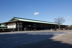 Japan Imperial Palace. Imperial Palace of new year open day royalty free stock images