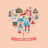 Japan impression collection Stock Photo