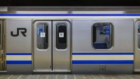 Japan järnvägdrev i Japan Royaltyfria Bilder