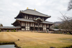 japan ji Nara świątyni todai Zdjęcia Royalty Free