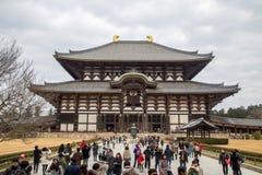 japan ji Nara świątyni todai Fotografia Stock