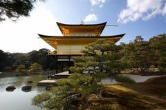 japan jikinkaku Royaltyfri Foto