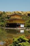 japan jikinkaku kyoto Arkivfoton