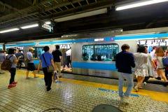 Japan: JR train Royalty Free Stock Photography