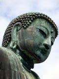 japan Kamakura Daibutsu den stora Buddha Arkivfoton