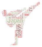 Japan-Karate lizenzfreie abbildung
