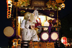 Japan : Kawagoe Festival Stock Images