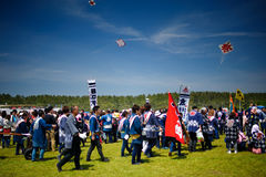 Japan Kite Festival 03 Royalty Free Stock Images