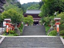 japan Kuramatempel stock afbeeldingen