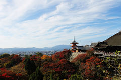 japan kyoto Fotografering för Bildbyråer
