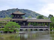 japan kyoto heian jingurelikskrin royaltyfri foto