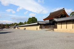 Japan - Kyoto Imperial Palace stock photography