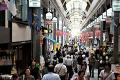Japan Kyoto köpcentrum arkivfoton
