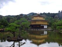 JAPAN. Kyoto. Kinkaku-ji Temple. The Golden Pavillon. Shogun ASHIKAGA Yoshimitsu builds the Golden Pavilion in 1397 Stock Photos