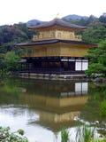 JAPAN. Kyoto. Kinkaku-ji Temple. The Golden Pavillon. Shogun ASHIKAGA Yoshimitsu builds the Golden Pavilion in 1397 Royalty Free Stock Image