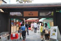 Japan Kyoto Kiyomizudera tempel Royaltyfria Foton