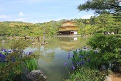 Japan Kyoto Kiyomizudera tempel Royaltyfria Bilder
