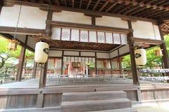 Japan Kyoto Kiyomizudera tempel Arkivbilder