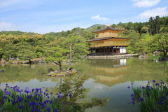 Japan Kyoto Kiyomizudera tempel Royaltyfri Foto