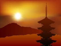 Japan Kyoto landscape Royalty Free Stock Photos