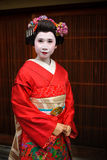 Japan Kyoto Maiko Geisha 01 Stock Photos