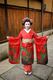 Japan Kyoto Maiko Geisha 02 Royalty Free Stock Photo
