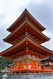 Japan, Kyoto, Maruyama-Park und seine Tempel lizenzfreies stockbild