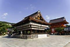 Japan Kyoto, Maruyama parkerar och dess tempel royaltyfria bilder