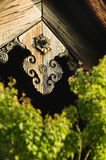 Japan Kyoto Tenryuji Temple architectural detail close-up Royalty Free Stock Image
