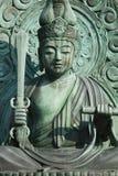 Japan Kyoto Tenryuji Temple bronze statue Stock Images
