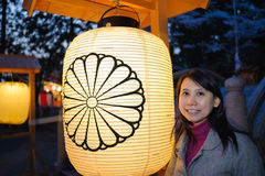 Japan lampion Royalty Free Stock Photos