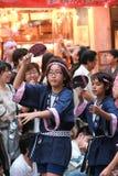 Japan lurar traditionell dans Royaltyfria Foton